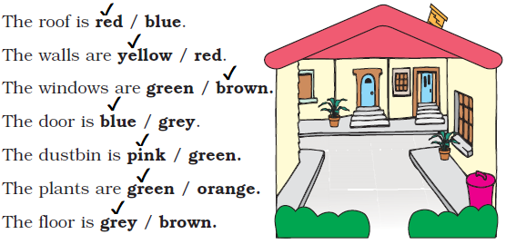 NCERT Solutions Class 1 English Unit 4 Poem Once I Saw a Little Bird - 7