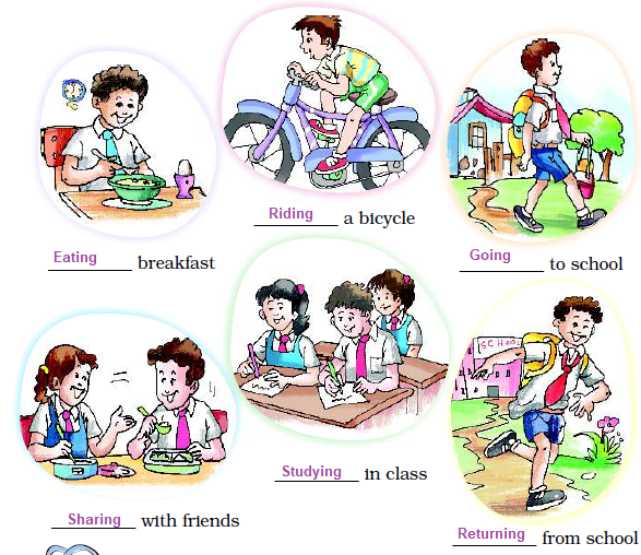 NCERT Solutions Class 2 English Unit 1 Poem First Day At School - 6
