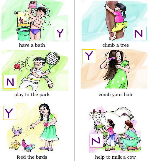 NCERT Solutions Class 2 English Unit 1 Poem The Paddling Pool - 2