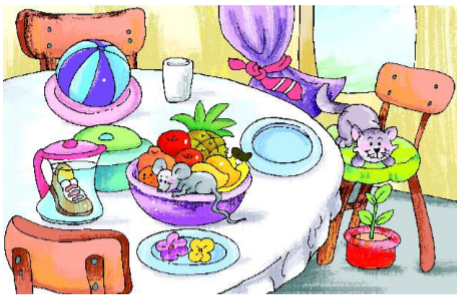 NCERT Solutions Class 2 English Unit 6 Story Curlylocks and the Three Bears-2