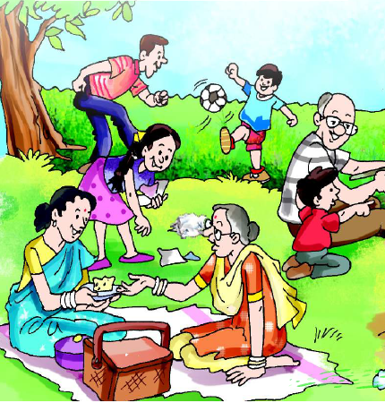 NCERT Solutions Class 2 English Unit 9 Poem Granny Granny Please Comb My Hair-6