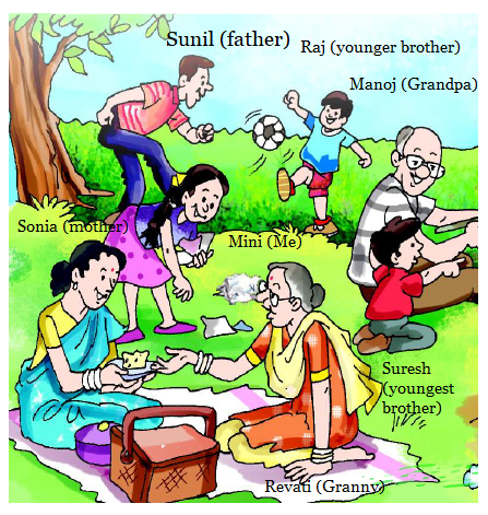 NCERT Solutions Class 2 English Unit 9 Poem Granny Granny Please Comb My Hair-7