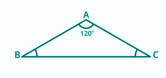 Obtuse Angle of a Triangle
