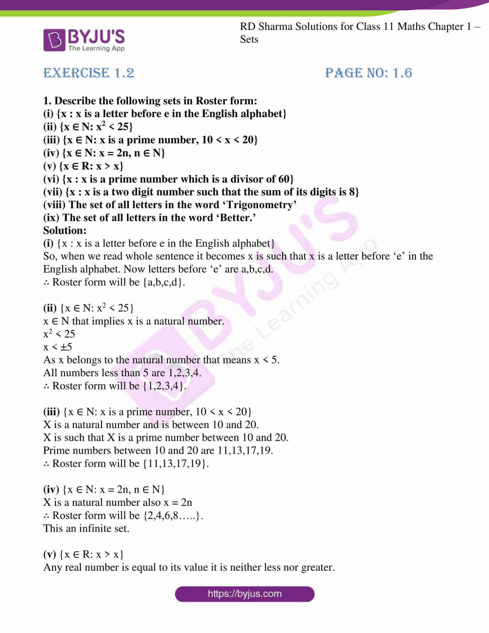 rd sharma class 11 maths ch 1 sets ex 2 1