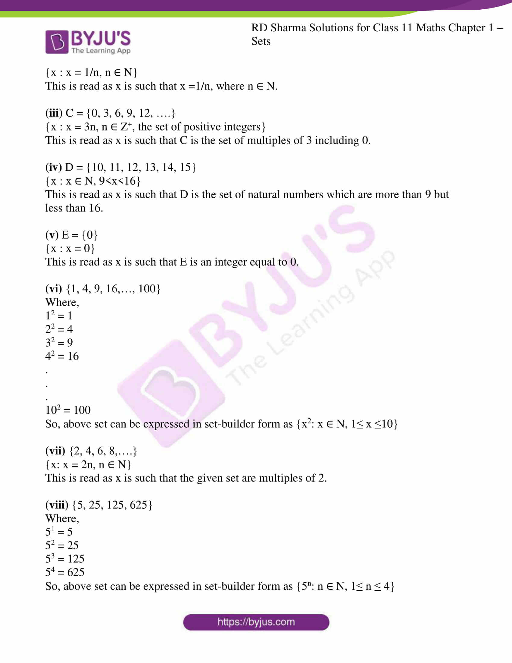 rd sharma class 11 maths ch 1 sets ex 2 3