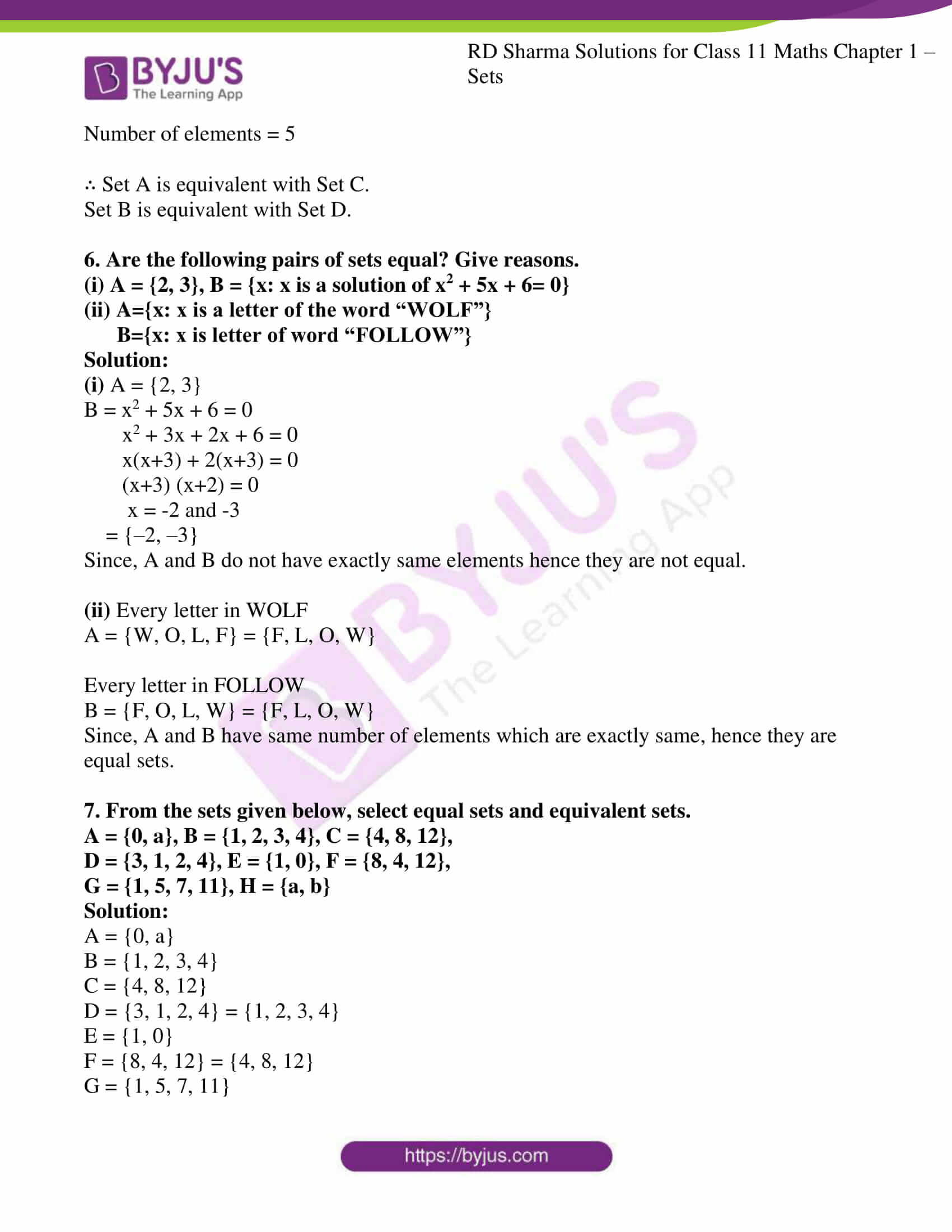 rd sharma class 11 maths ch 1 sets ex 3 4