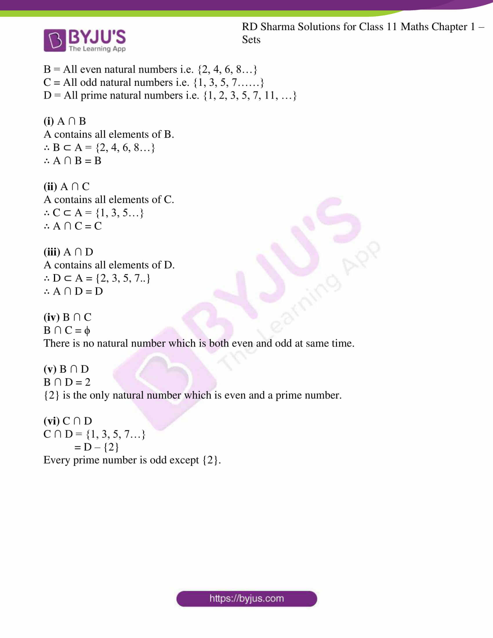 rd sharma class 11 maths ch 1 sets ex 5 4