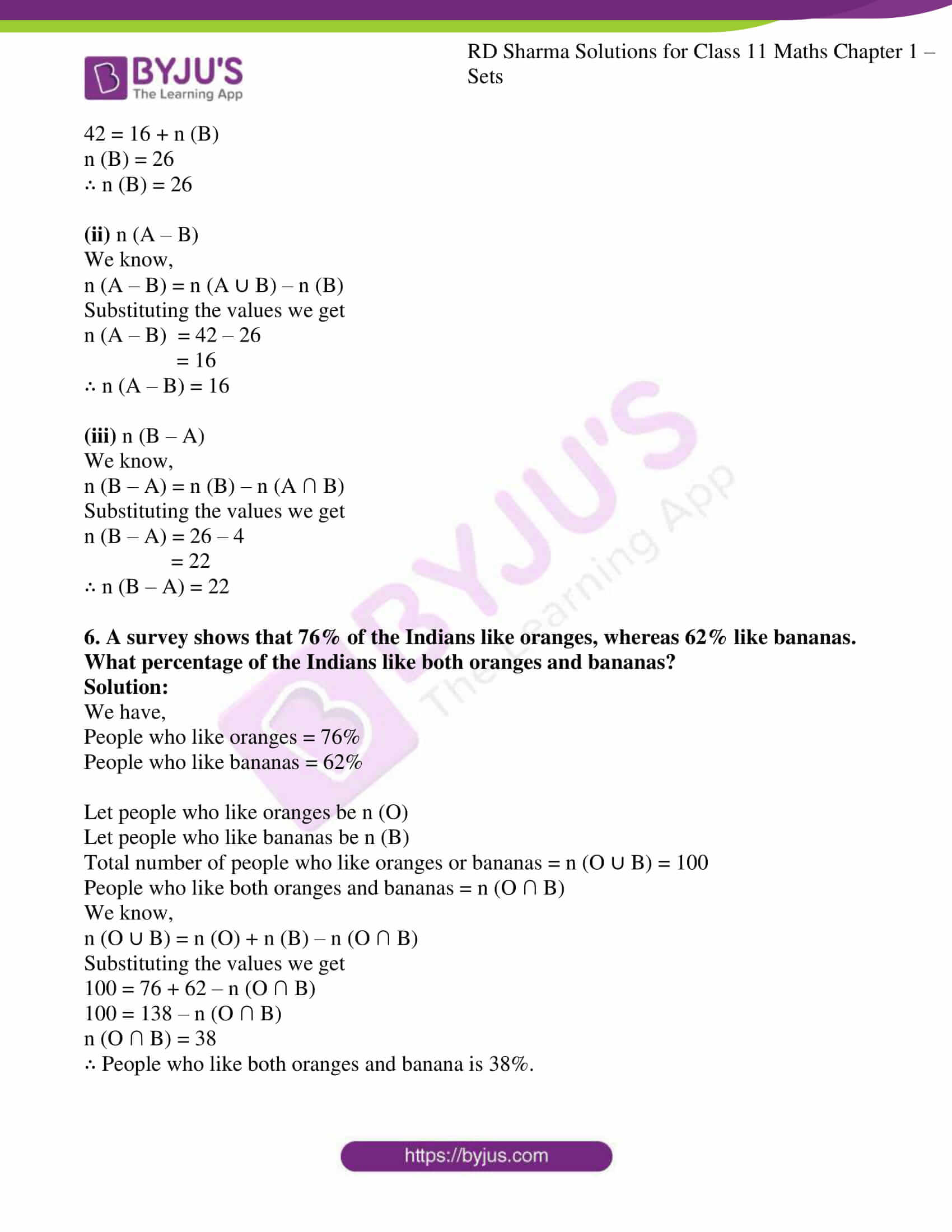 rd sharma class 11 maths ch 1 sets ex 8 3