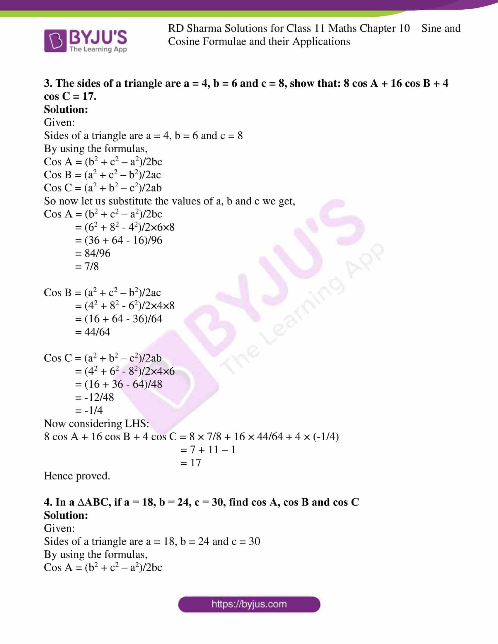 rd sharma class 11 maths ch 10 ex 2 2