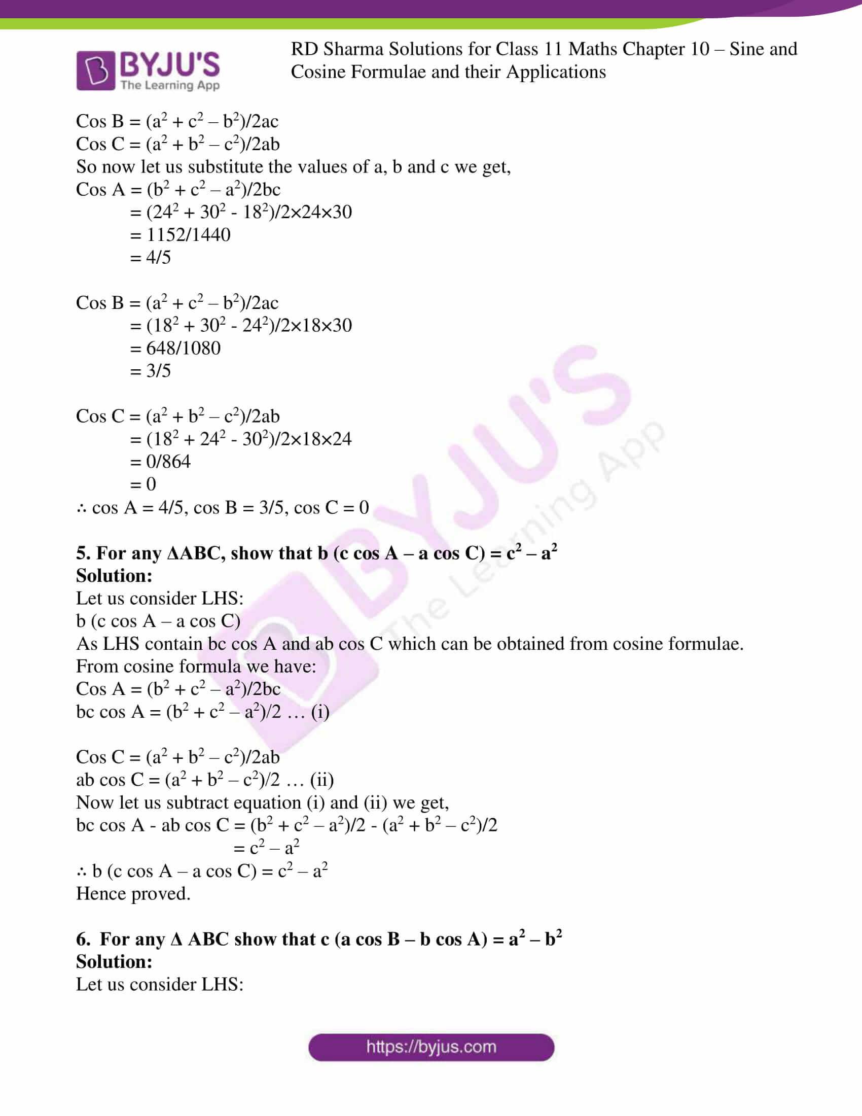 rd sharma class 11 maths ch 10 ex 2 3