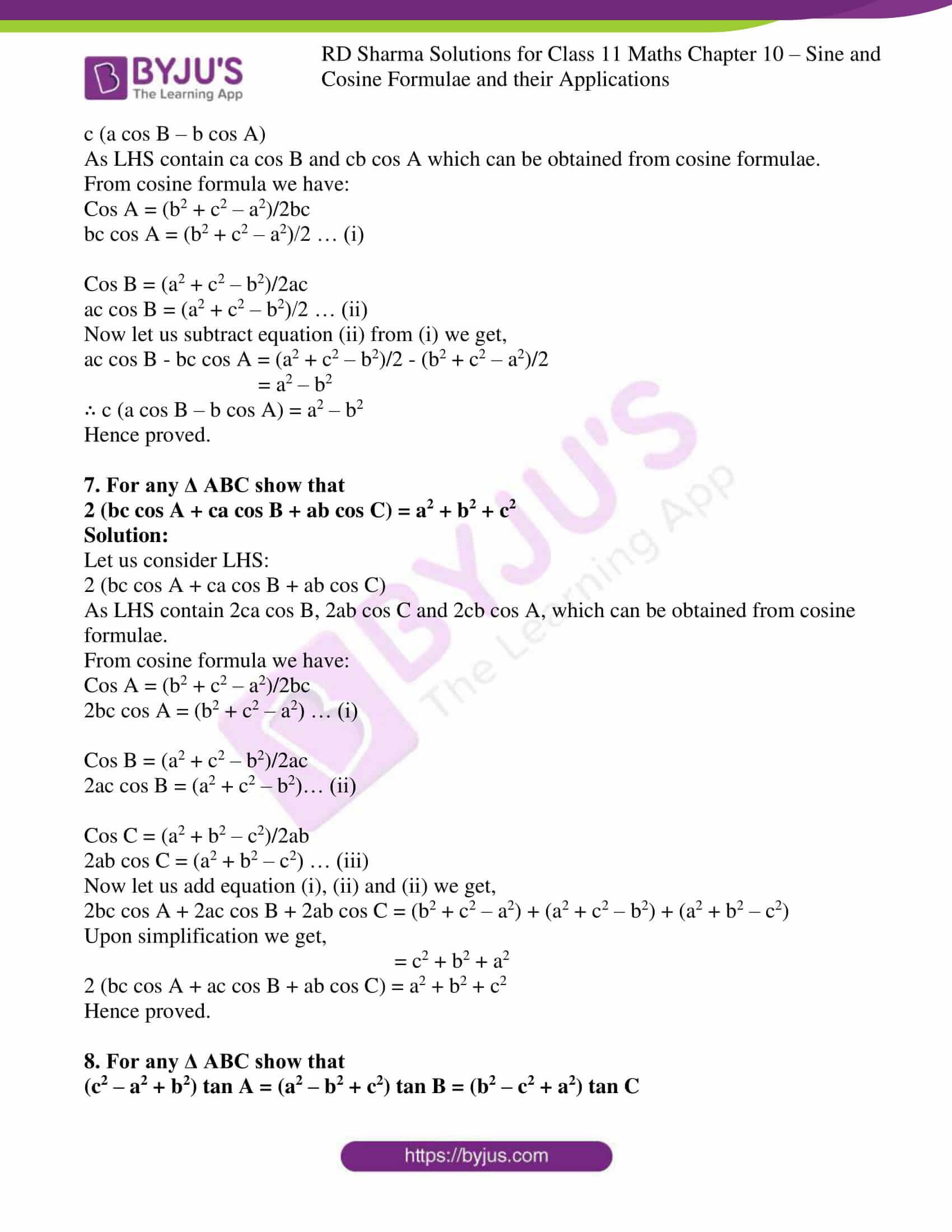 rd sharma class 11 maths ch 10 ex 2 4