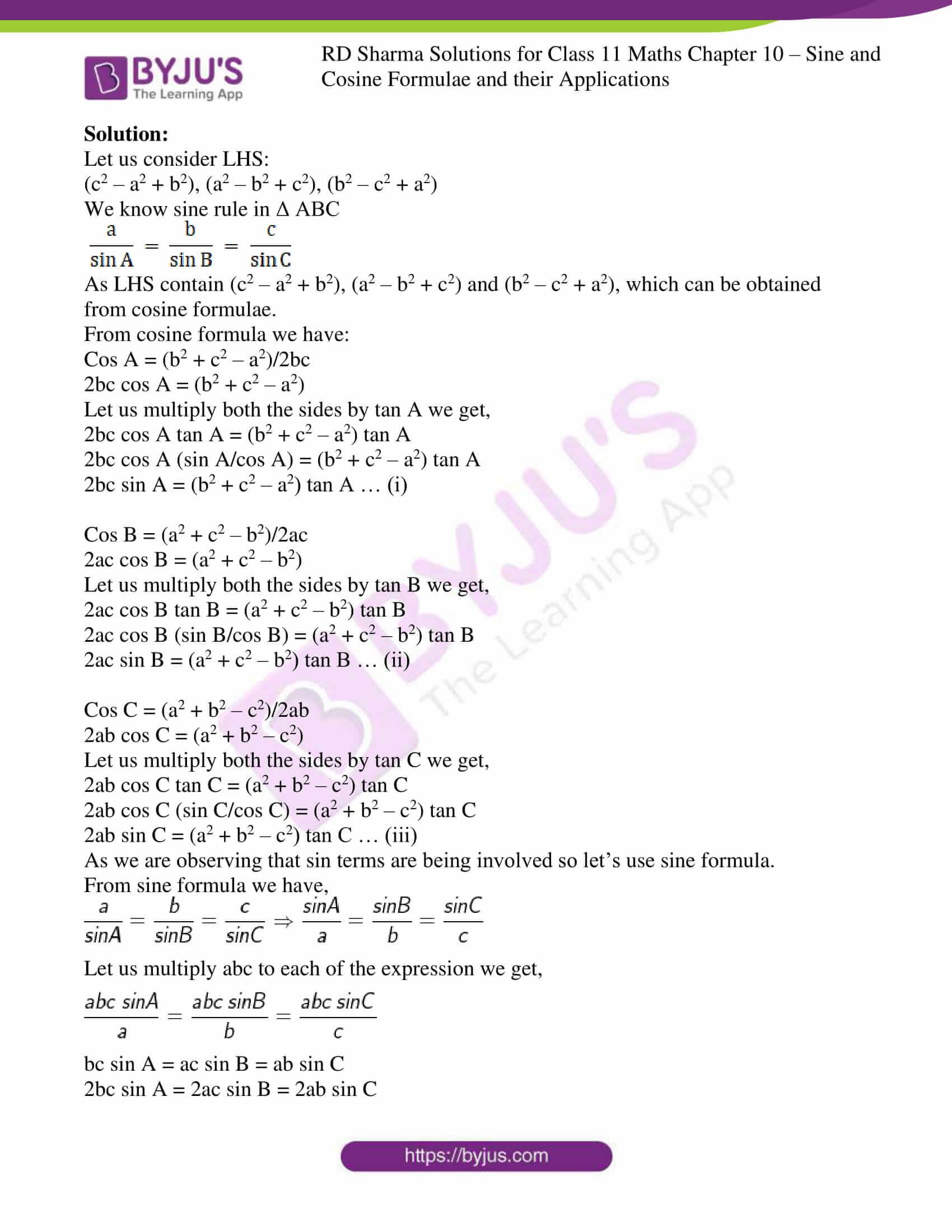 rd sharma class 11 maths ch 10 ex 2 5