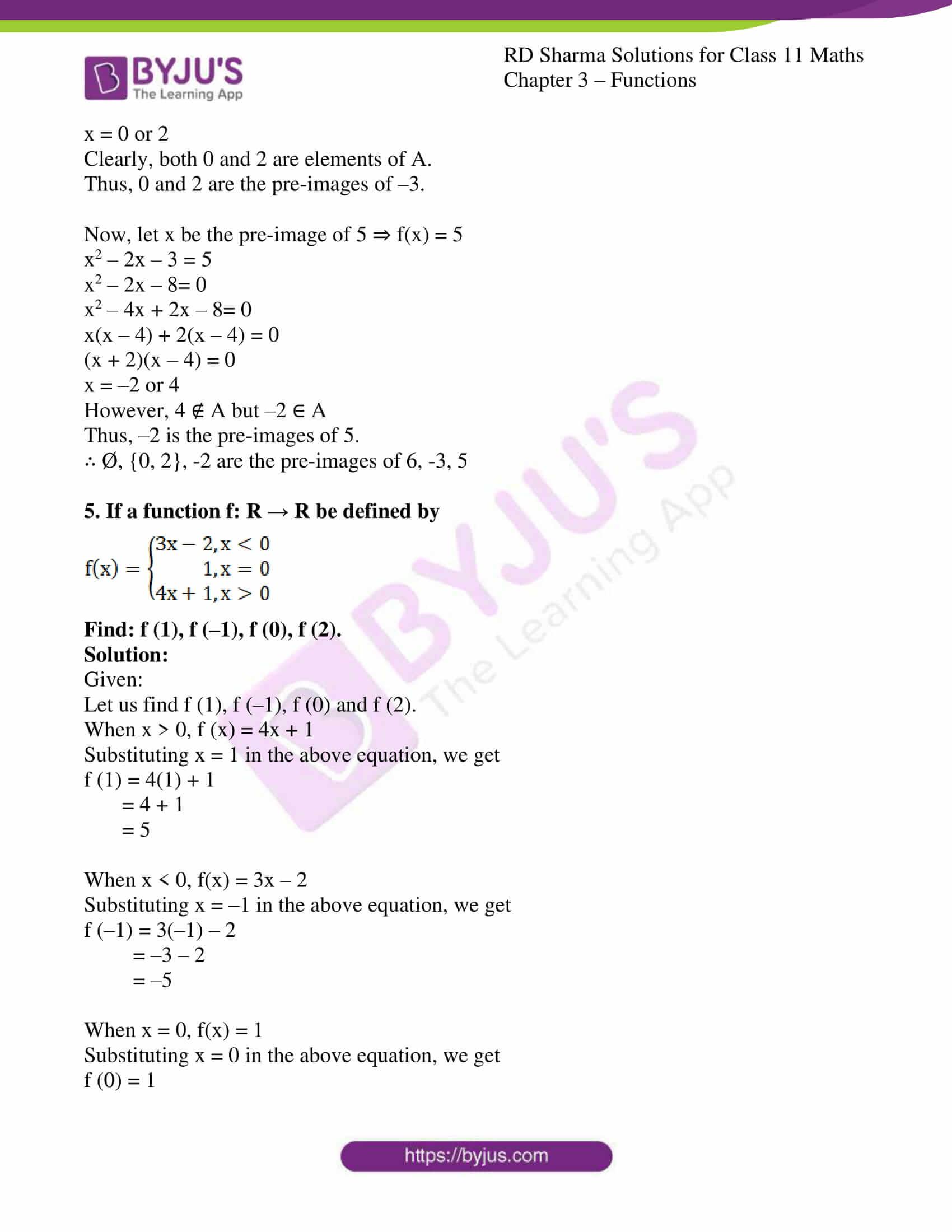 rd sharma class 11 maths ch 3 functions ex 1 3