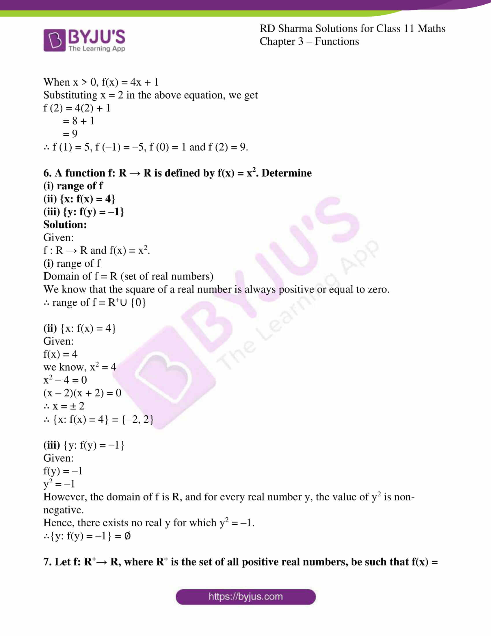 rd sharma class 11 maths ch 3 functions ex 1 4