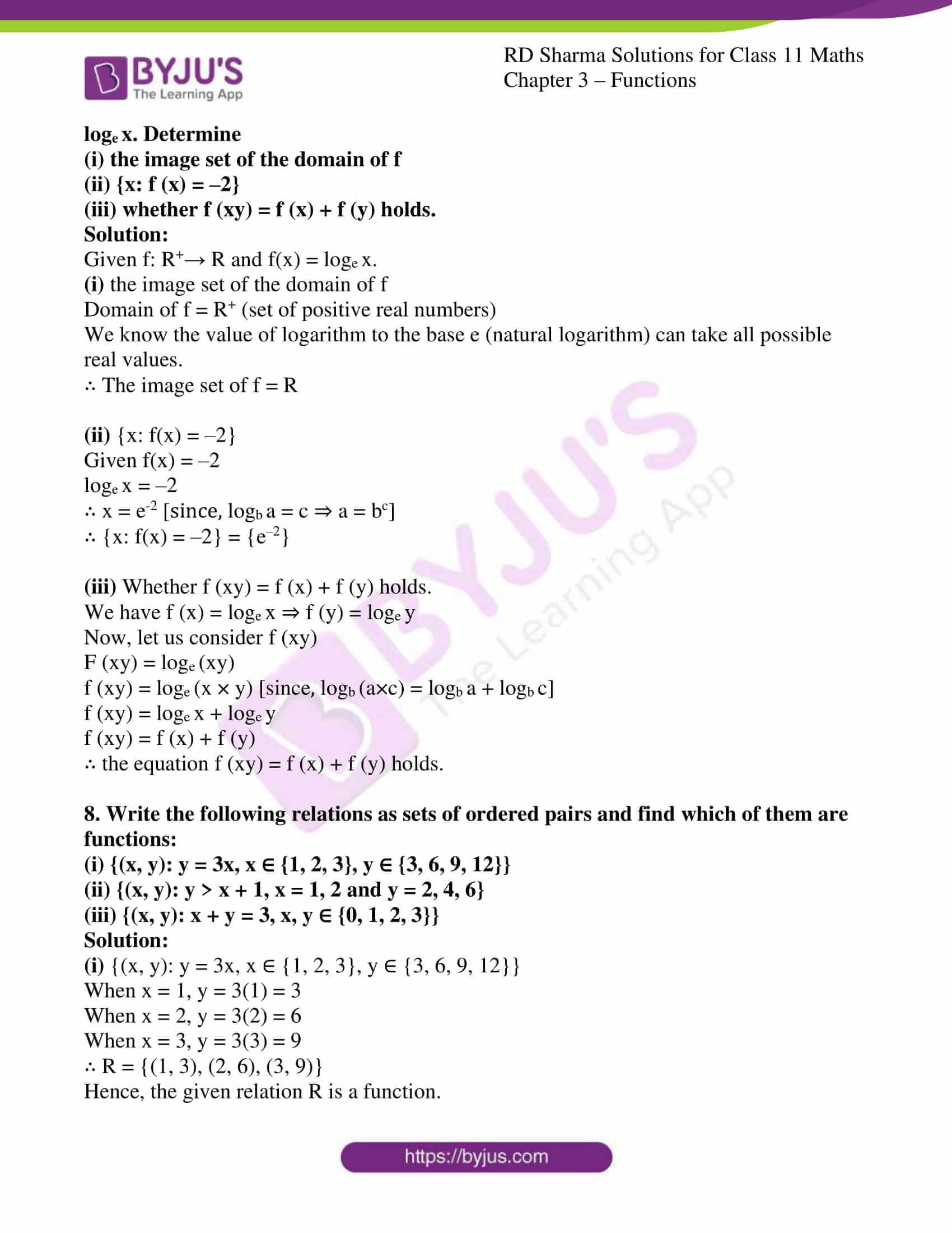 rd sharma class 11 maths ch 3 functions ex 1 5