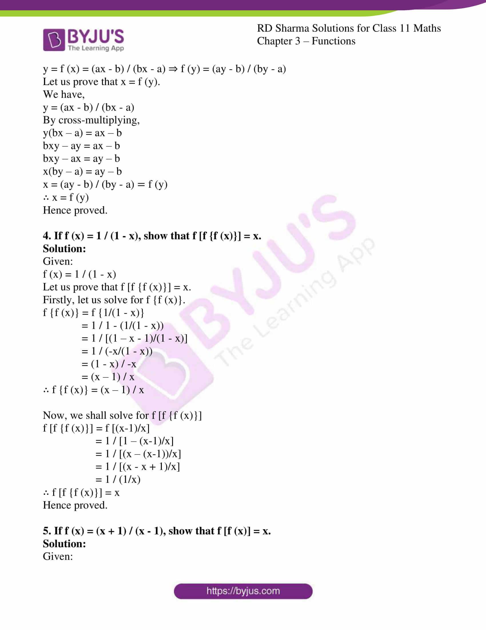rd sharma class 11 maths ch 3 functions ex 2 2