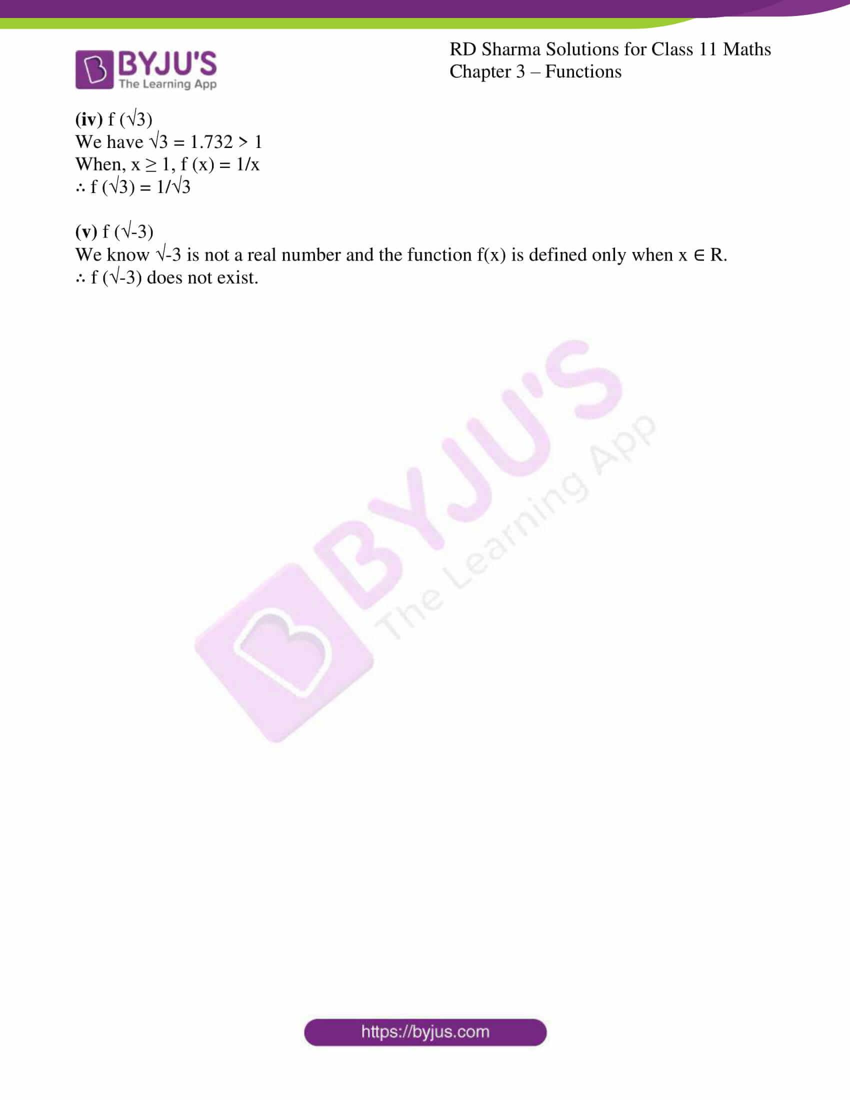 rd sharma class 11 maths ch 3 functions ex 2 4