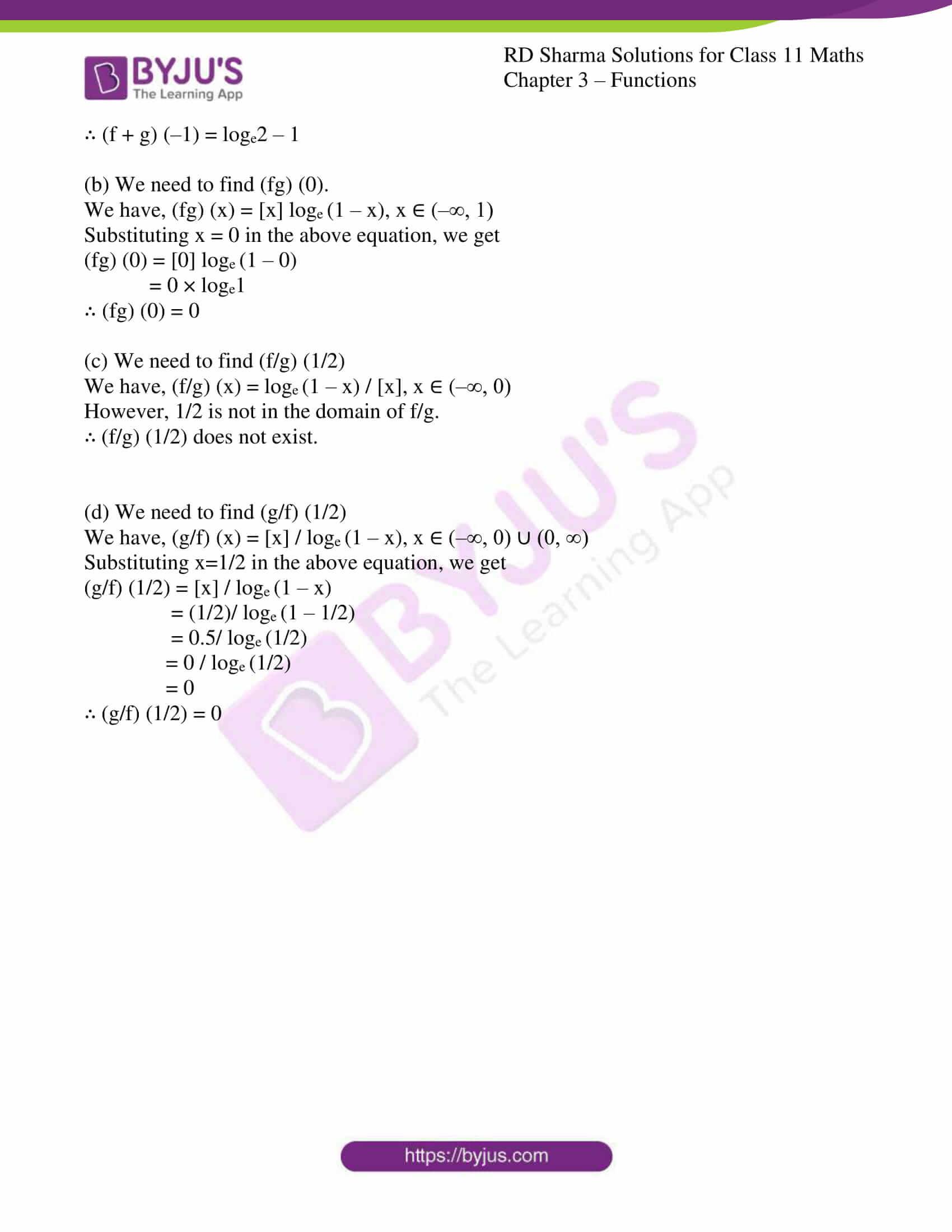 rd sharma class 11 maths ch 3 functions ex 4 11