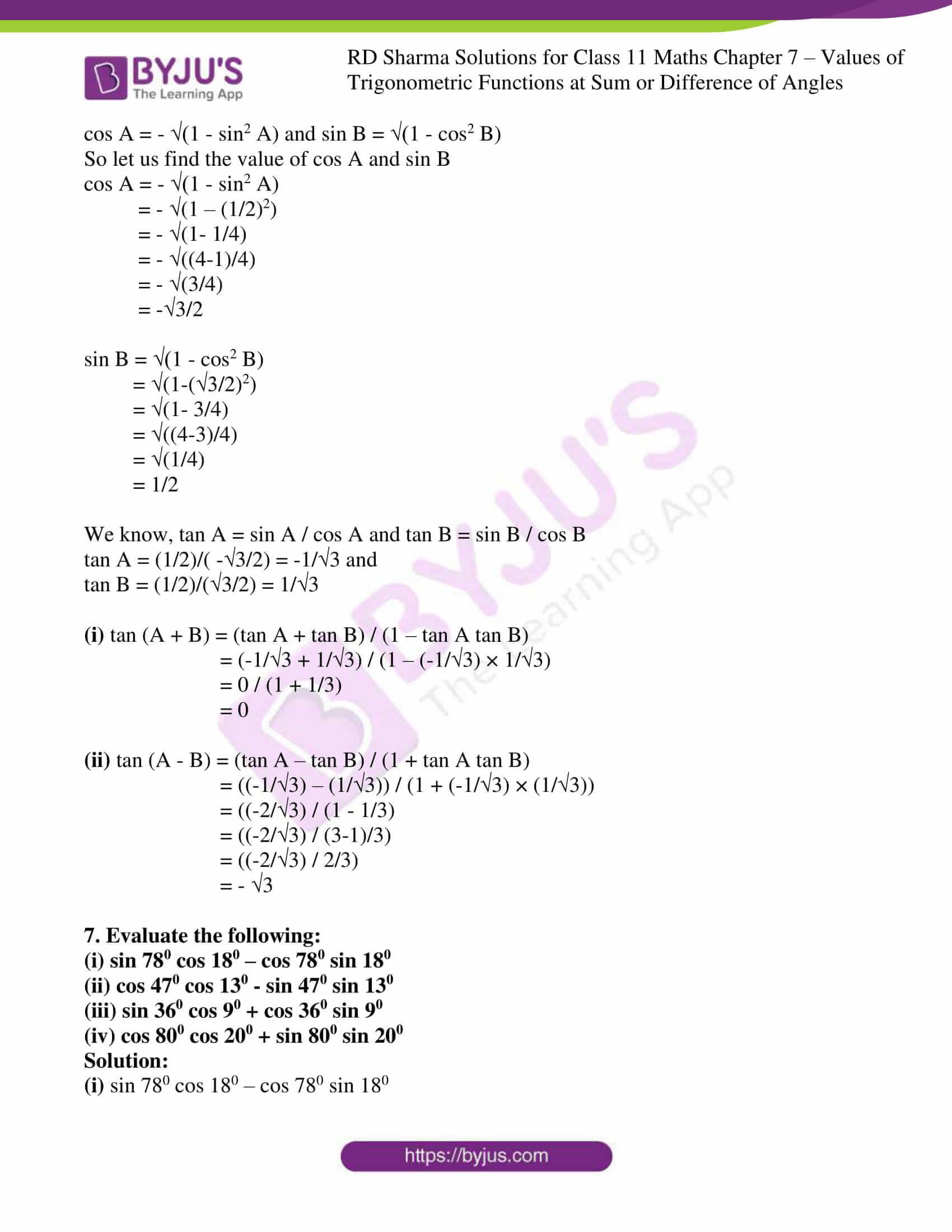 rd sharma class 11 maths ch 7 ex 1 07