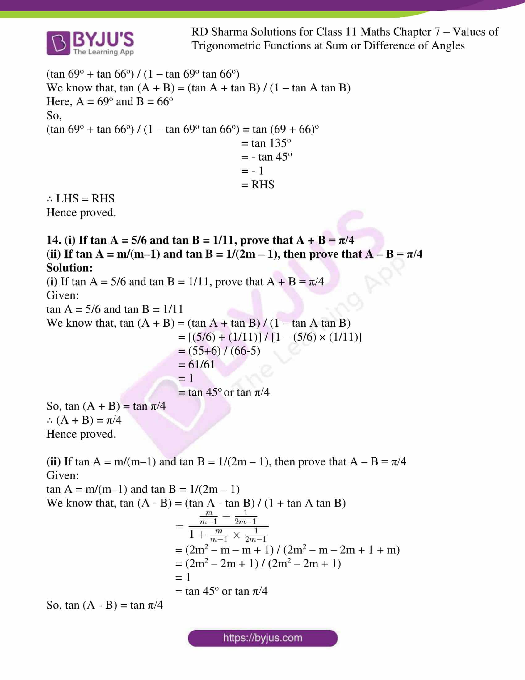 rd sharma class 11 maths ch 7 ex 1 14