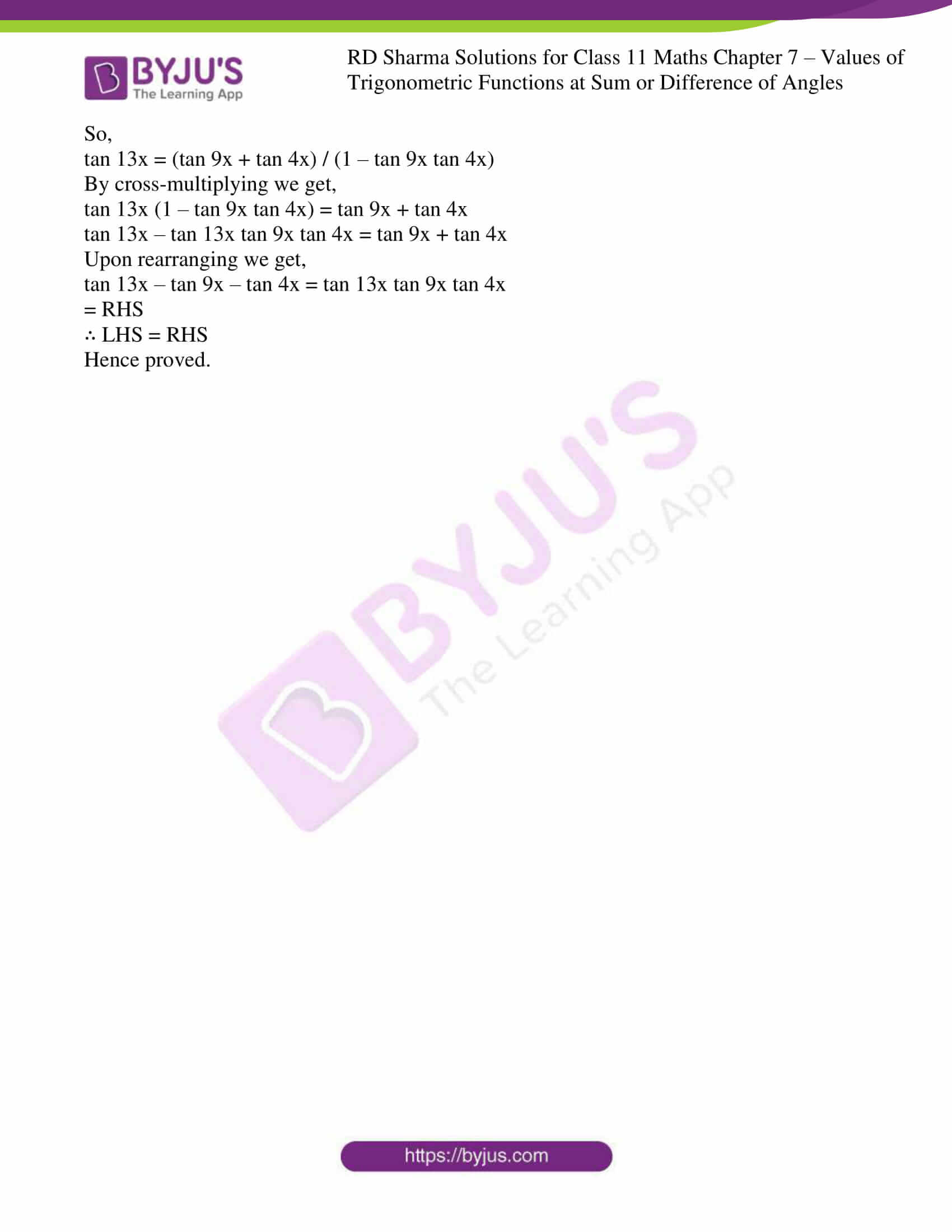 rd sharma class 11 maths ch 7 ex 1 21