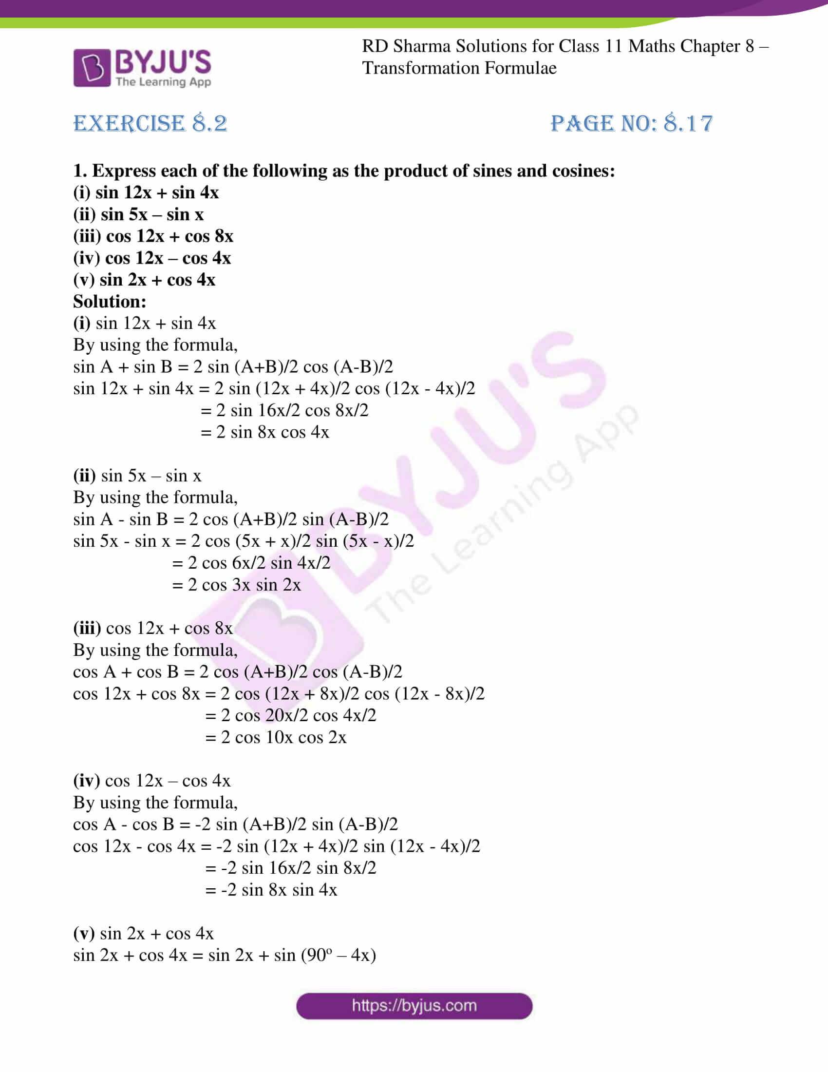 rd sharma class 11 maths ch 8 ex 2 01