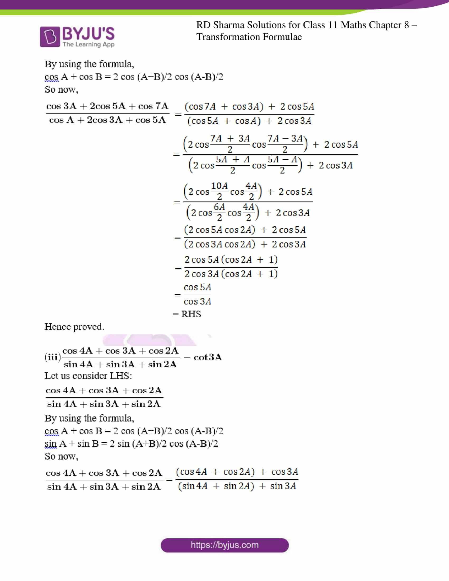 rd sharma class 11 maths ch 8 ex 2 19