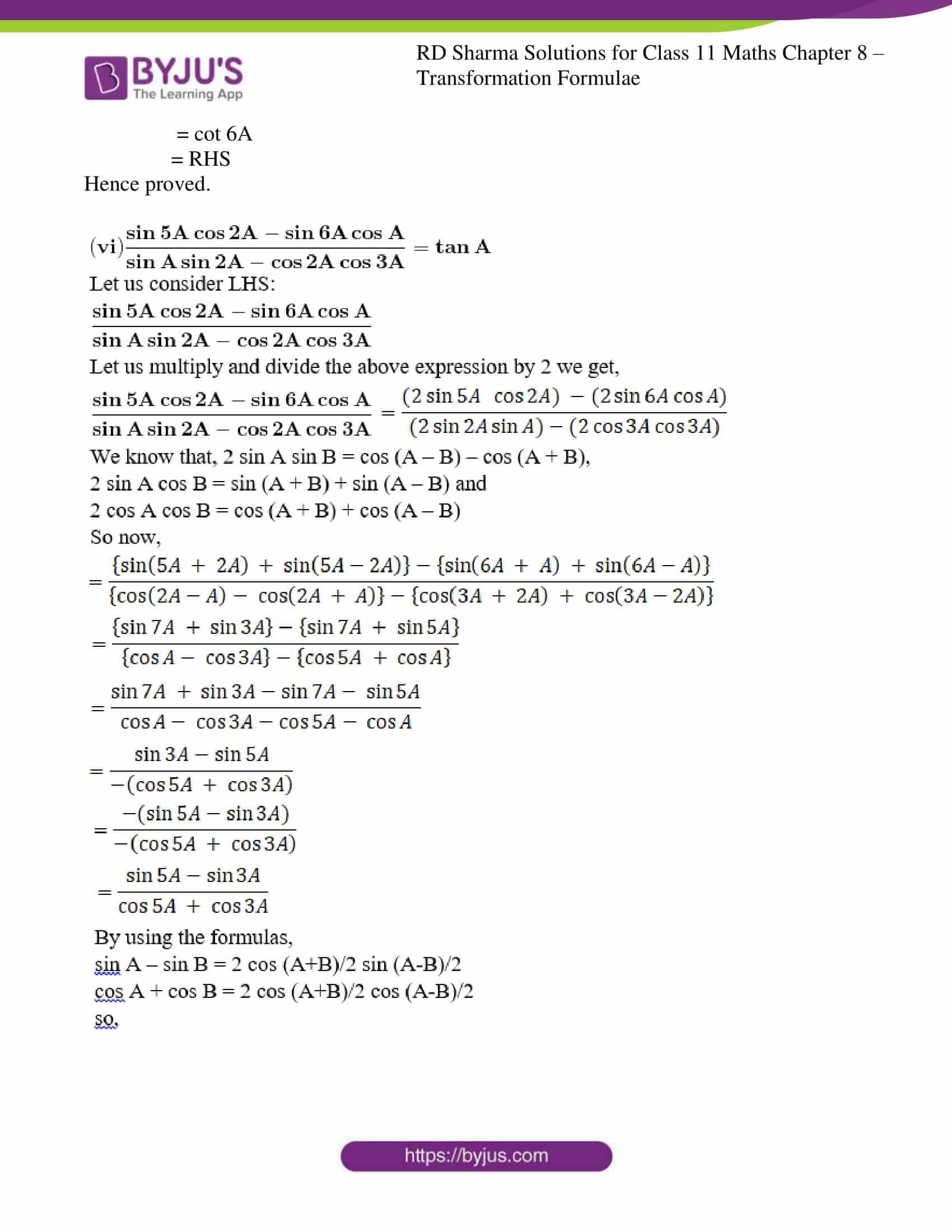 rd sharma class 11 maths ch 8 ex 2 22