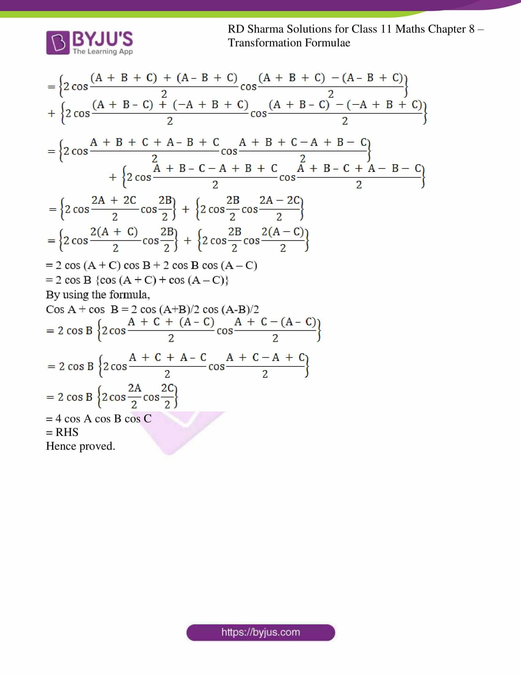 rd sharma class 11 maths ch 8 ex 2 30