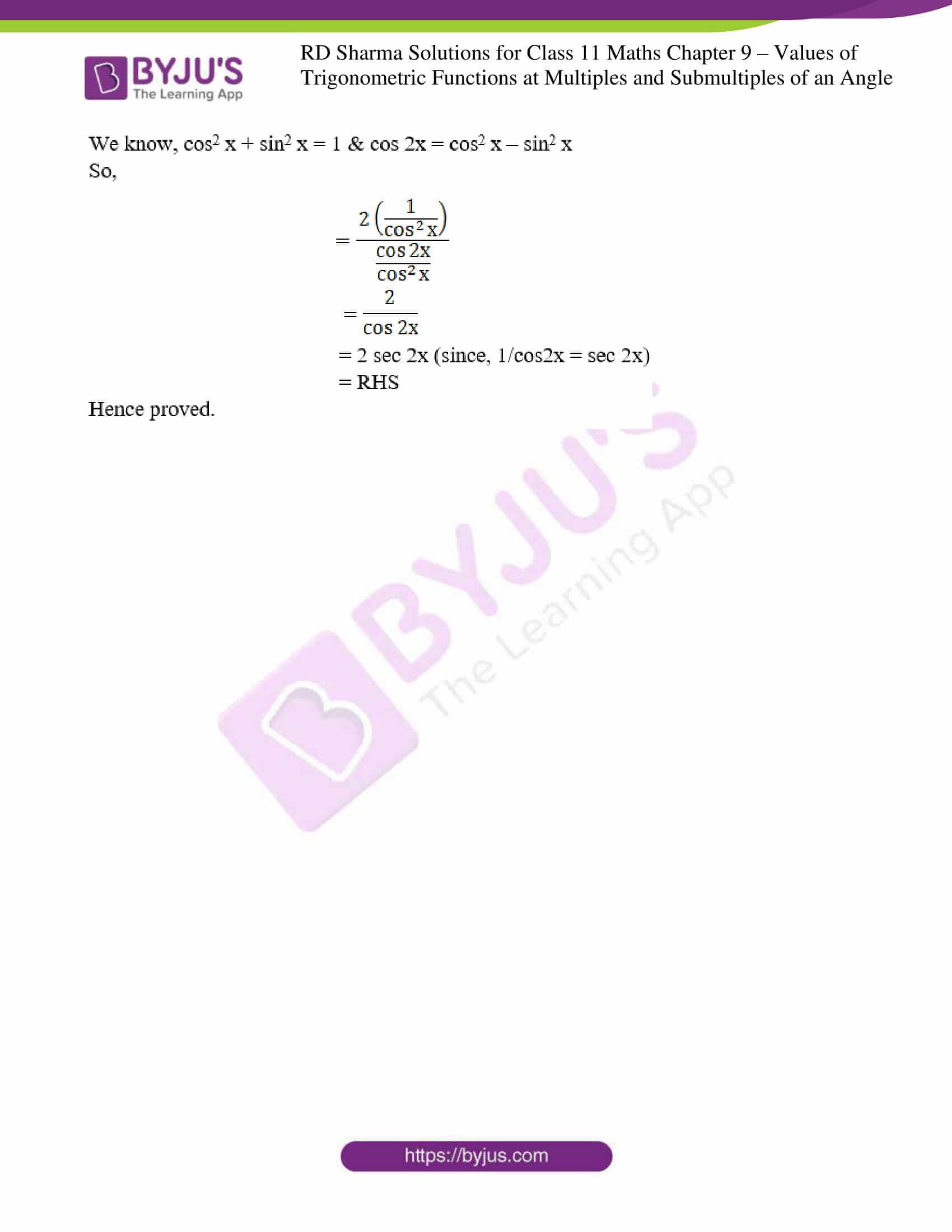 rd sharma class 11 maths ch 9 ex 1 15