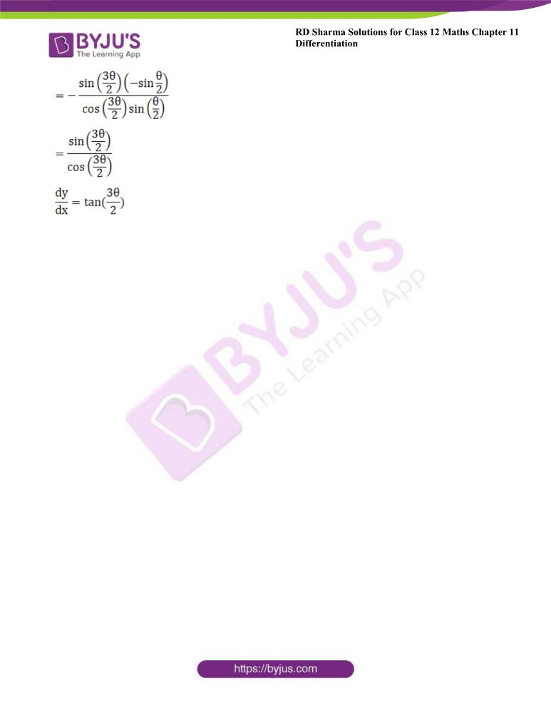 RD Sharma Class 12 Maths Solutions Chapter 11 Differentiation 149