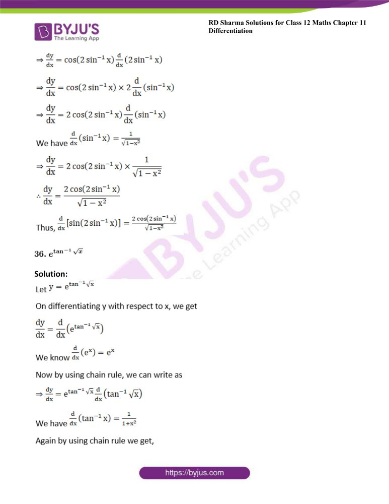 RD Sharma Class 12 Maths Solutions Chapter 11 Differentiation 47