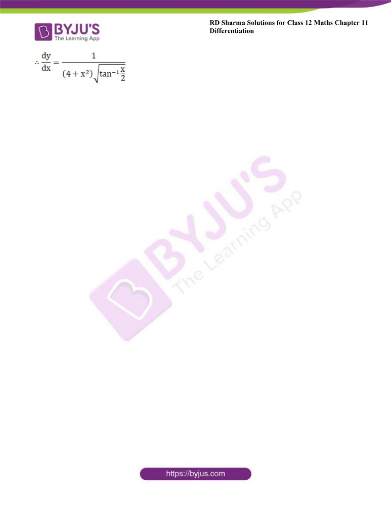 RD Sharma Class 12 Maths Solutions Chapter 11 Differentiation 50