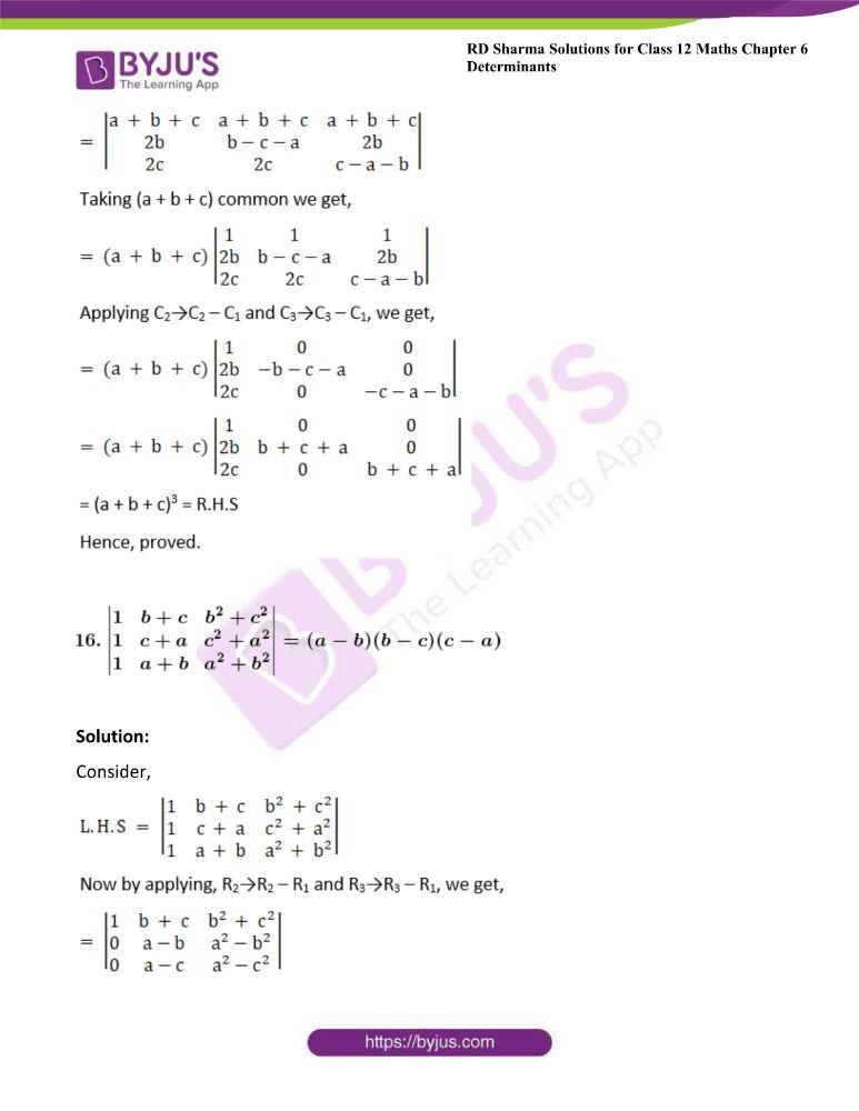 RD Sharma Class 12 Maths Solutions Chapter 6 Determinants 41