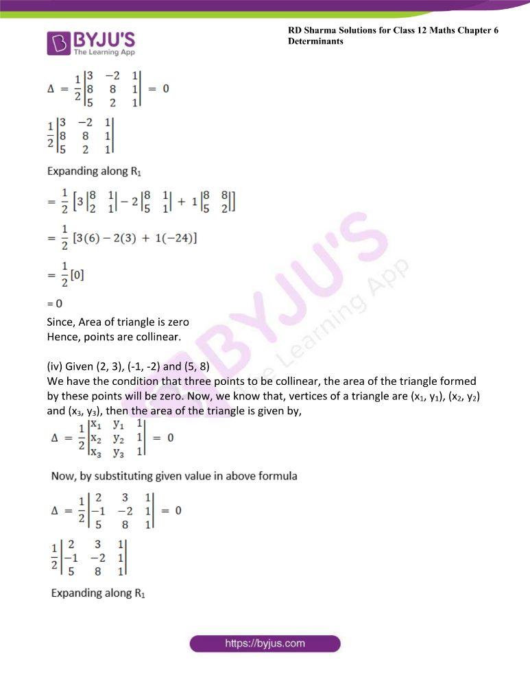 RD Sharma Class 12 Maths Solutions Chapter 6 Determinants 59