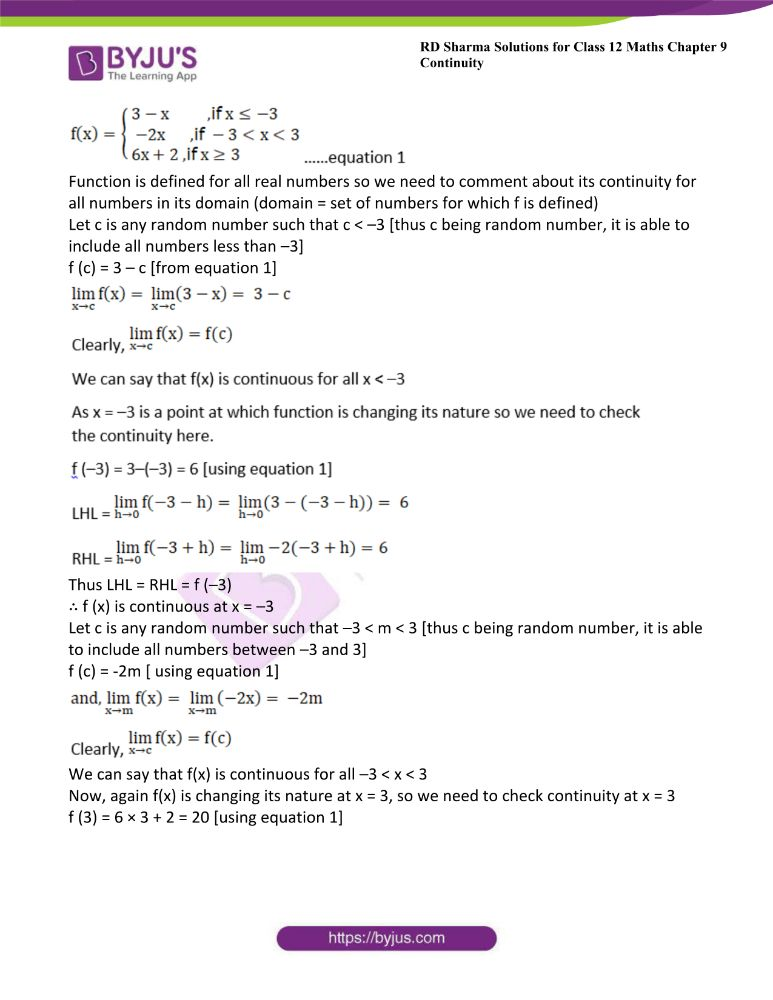 RD Sharma Class 12 Maths Solutions Chapter 9 Continuity 41