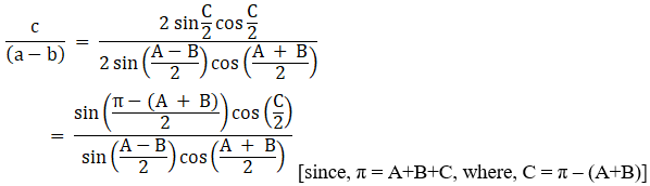 RD Sharma Solutions for Class 11 Maths Chapter 10 – Sine and Cosine Formulae and their Applications image - 13