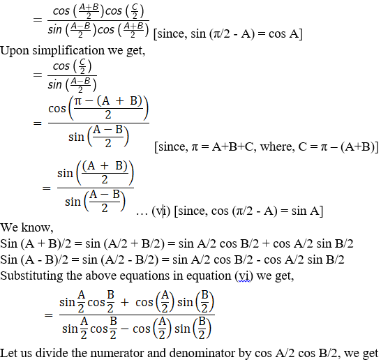 RD Sharma Solutions for Class 11 Maths Chapter 10 – Sine and Cosine Formulae and their Applications image - 14