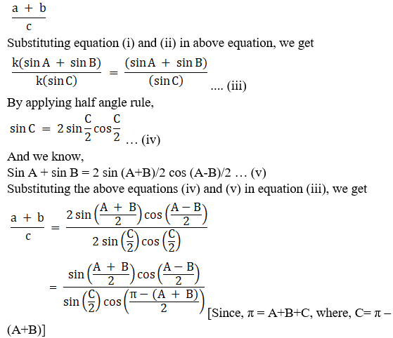 RD Sharma Solutions for Class 11 Maths Chapter 10 – Sine and Cosine Formulae and their Applications image - 24