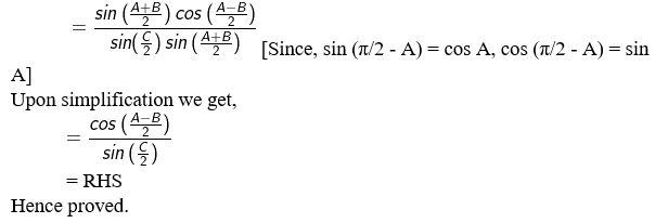 RD Sharma Solutions for Class 11 Maths Chapter 10 – Sine and Cosine Formulae and their Applications image - 25