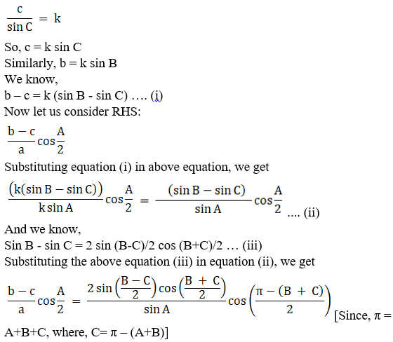 RD Sharma Solutions for Class 11 Maths Chapter 10 – Sine and Cosine Formulae and their Applications image - 27