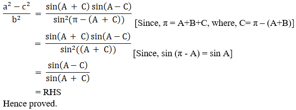 RD Sharma Solutions for Class 11 Maths Chapter 10 – Sine and Cosine Formulae and their Applications image - 31