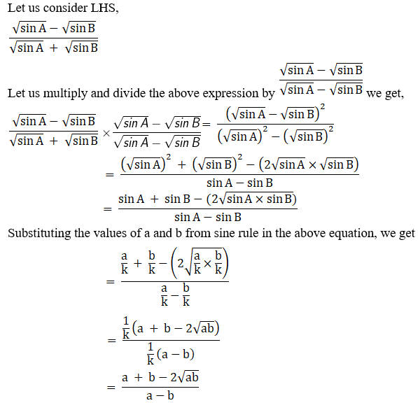 RD Sharma Solutions for Class 11 Maths Chapter 10 – Sine and Cosine Formulae and their Applications image - 35
