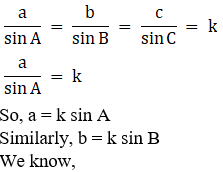 RD Sharma Solutions for Class 11 Maths Chapter 10 – Sine and Cosine Formulae and their Applications image - 8