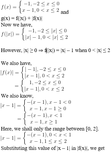 RD Sharma Solutions for Class 11 Maths Chapter 3 – Functions image - 10