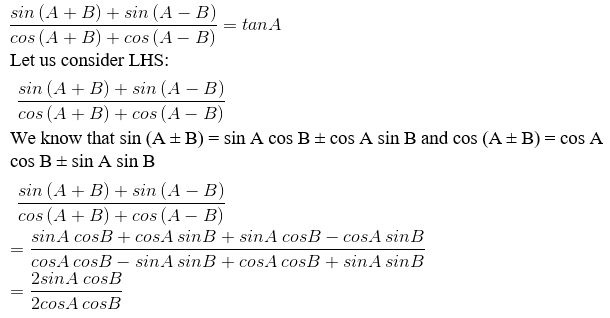 RD Sharma Solutions for Class 11 Maths Chapter 7 – Values of Trigonometric Functions at Sum or Difference of Angles image- 14