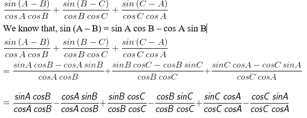 RD Sharma Solutions for Class 11 Maths Chapter 7 – Values of Trigonometric Functions at Sum or Difference of Angles image- 16