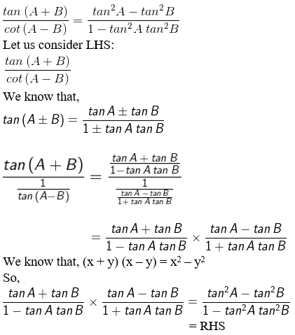 RD Sharma Solutions for Class 11 Maths Chapter 7 – Values of Trigonometric Functions at Sum or Difference of Angles image- 18