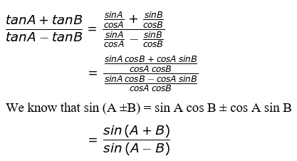 RD Sharma Solutions for Class 11 Maths Chapter 7 – Values of Trigonometric Functions at Sum or Difference of Angles image- 1