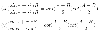 RD Sharma Solutions for Class 11 Maths Chapter 8 – Transformation Formulae image - 4
